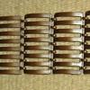 fence link solid copper bracelet