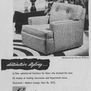 1950 Futorian Furniture Advertisements - Advertising