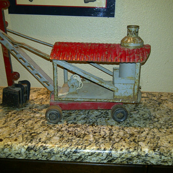 "Keystone ""Ride 'em"" Steam Shovel Circa 1930 - Model Cars"