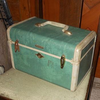 Vintage Samsonite Makeup Case Mid Century