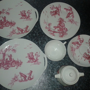unknown French China