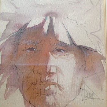 NATIVE AMERICAN INK & WASH