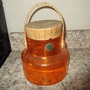 Takahashi San Francisco ice bucket - Art Glass