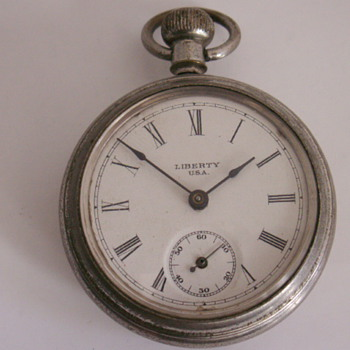 Ingersoll LIBERTY U.S.A. Backwind &amp; Set - Pocket Watches