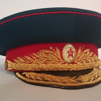 Soviet Parade Visor Cap of an Army General (early version)