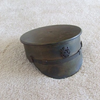 WW1 Trench Art Hat ashtray - Military and Wartime