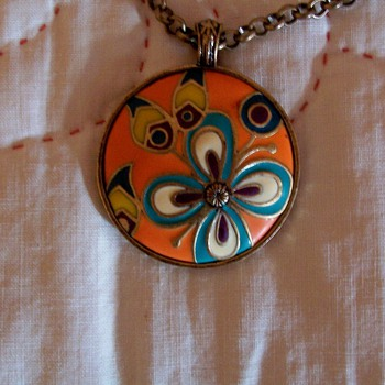 Peace necklace - Costume Jewelry