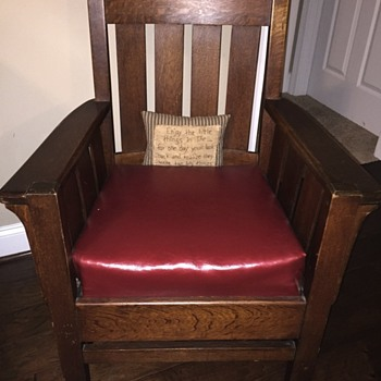 Oak Mission chair