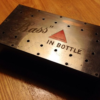 Bass in Bottle Box - Breweriana