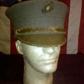 pre WWI USMC Marine Corps enlisted bell crown hats