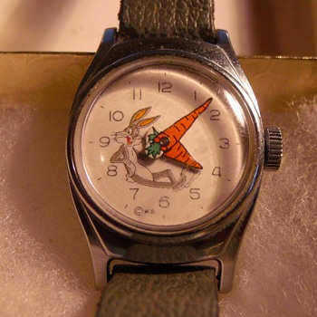 Sear Exclusive Bugs Bunny Wrist Watch... Circa 1964