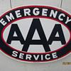AAA porcelian sign