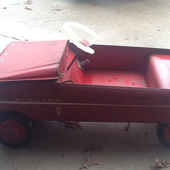 1960's Berbro 12 volts car, info needed - Toys