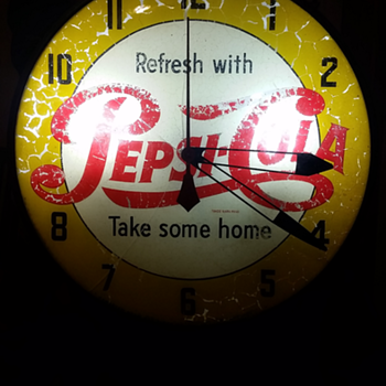 My old Pepsi clock