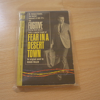 THE FUGITIVE FEAR IN A DESERT TOWN 1963