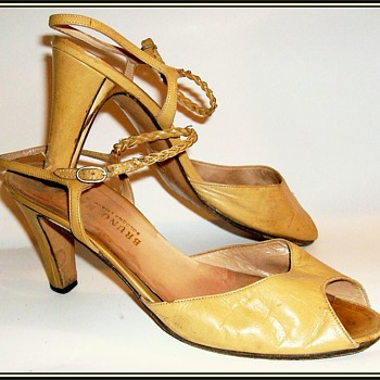 1980's - Ladies * BRUNO MAGLI * Shoes