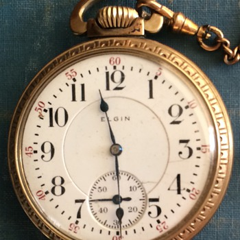 1911 Elgin Pocket Watch  - Pocket Watches