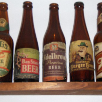 Internal Revunue Tax Paid Beer Bottles - Breweriana
