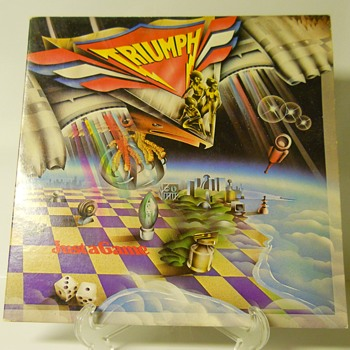 "TRIUMPH""Just a Game""Released 1979"
