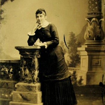Tin-Type photographs of the Women in the Original Album