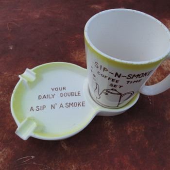 'Sip-N-Smoke' Coffee Time Set