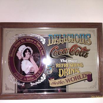Coca Cola Mirror