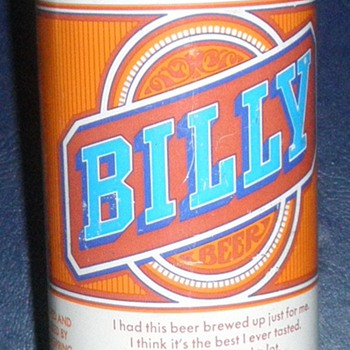 Billy Beer! - Breweriana
