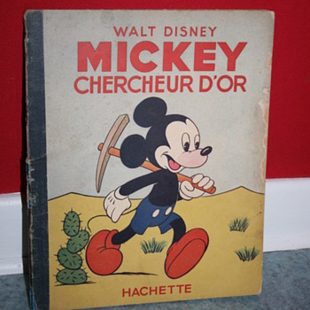 Mickey chercheur d'or comic book - Books