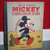 Mickey chercheur d'or comic book