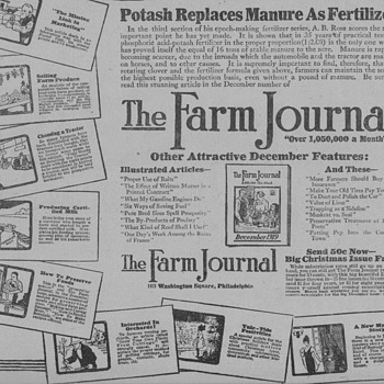 1919 Farm Journal Advertisement - Advertising