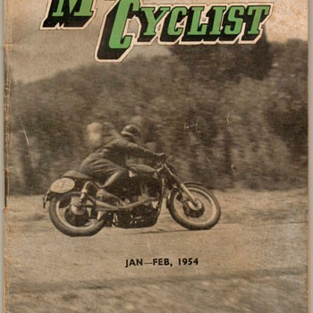 1954 - New Zealand Motorcyclist Magazine