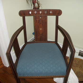 My mother-in-law's chair. - Furniture