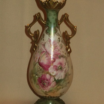 RS Prussia vases + RSP Royal Vienna tankard  - China and Dinnerware