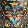 Happy Mardi Gras! (Fat Tuesday)  2005 signed Michael Miller poster.