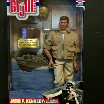 GI Joe JFK PT Boat Captain - Toys