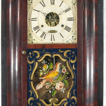 Seth Thomas 30 Hour Ogee Clock ca. 1845 - Clocks
