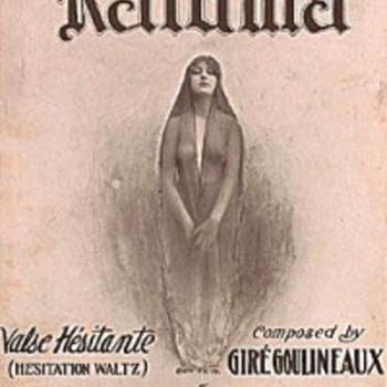 """1914 SHEET MUSIC."""".KALOMA"""""""