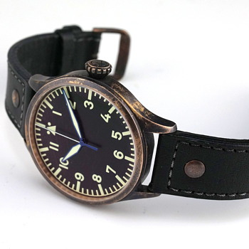 Archimede BRONZE 42H Pilot - Wristwatches