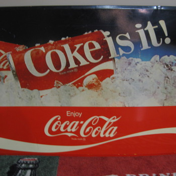 Coke sign - Coca-Cola