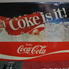   Coke sign