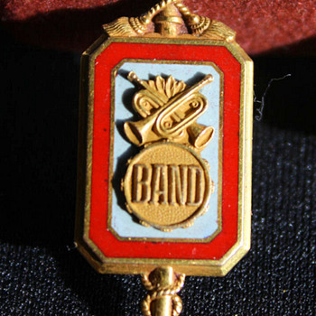 Fathers Ohio State University Marching Band Pin  - Music