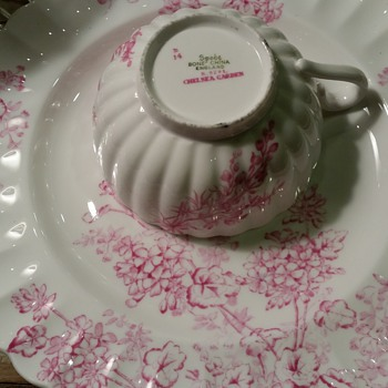 Spode Chelsea Garden, why just all pink?  Pattern #R9781 - China and Dinnerware
