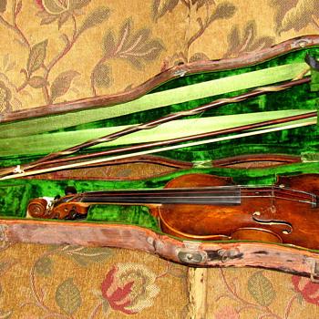 Schweitzer violin 1814