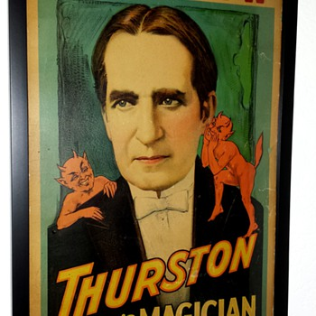 Rare Original Thurston Window Card - Posters and Prints