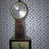 My Old Sessions Banjo Clock Antique