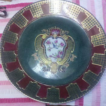 Imari plate old?