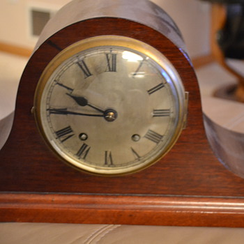 Empire Mantel Clock Unknown Origins?? - Clocks