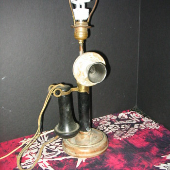 Western Electric Candlestick Phone lamp