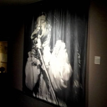 Janis Joplin Silkscreen  -  7.5' wide x 9' tall