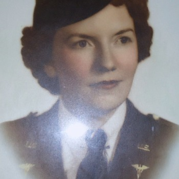 World War Two Nurse, photos!  My Mother! In 2 sections!  1st one: